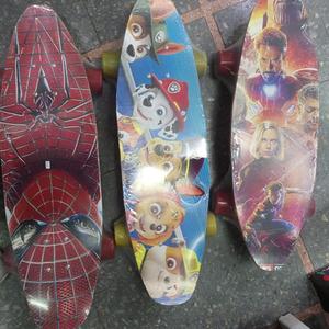 Skate Longboard super heroes paw patrol