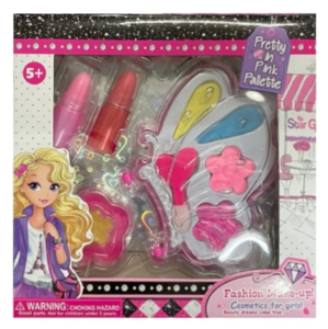 Kit Maquillaje Niñas Set Cosmetica Infantil Nenas - Mariposa