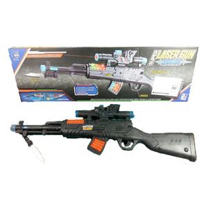 Arma Rifle Bayoneta con Luces y Sonido