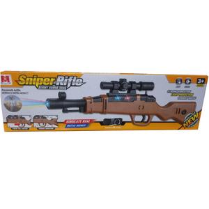 Rifle Sniper Juguete Sonido Vibracion y Luces