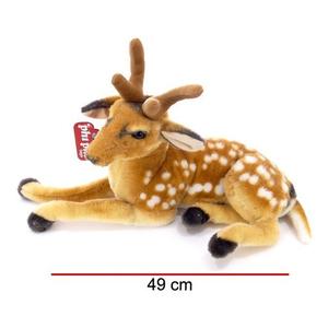 Bambi Ciervo Echado Grande Peluche 49 Cm Phi Phi Toys