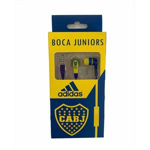 Auriculares Boca Juniors MP3