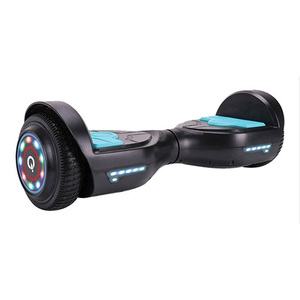 Patineta Electrica Iqual Skate Hoverboard 12km/h Luz Led New
