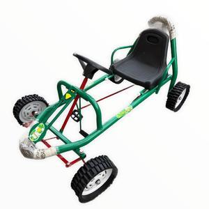 Karting Para Niños a Pedal ruedas de Goma