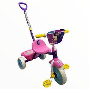 Triciclo Direccional Minnie Mouse con Pedales