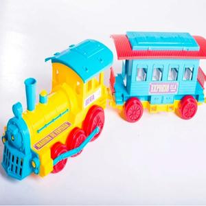 Locomotora con Vagon de Pasajeros