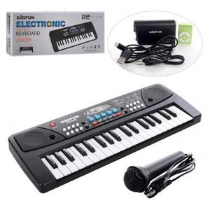 Órgano Musical Electrónico Con Entrada Auxiliar