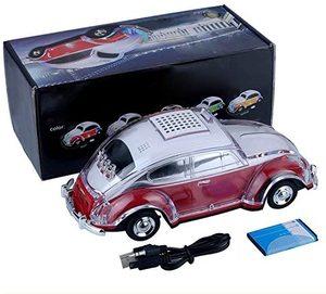 Parlante Bluetooth Modelo Auto Antiguo LED WS-1937BT