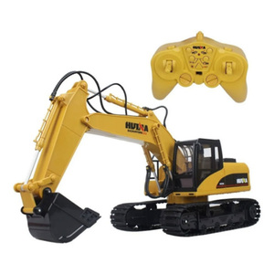 Maquina Excavadora a Escala Control Remoto Pala Carga Giro