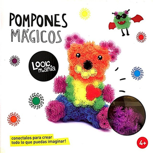 Bunchems 400 Pompones Magicos Abrojos Original Spin Master
