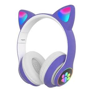 Auricular Bluetooth SD Con Orejas De Gato