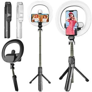 Aro De Luz Led Regulador De Tono Selfie Bin Stick xt18s