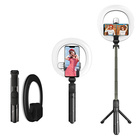 Portable-gift-bluetooth-remote-removable-6-ring-light-xt18s-selife-light-tripod-with-two-fill-lights