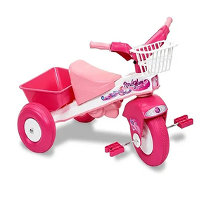 Triciclo Infantil Glam Rondi Con Canasto