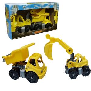 Set Camión Y Retro Excavadora Mini Duravit 360