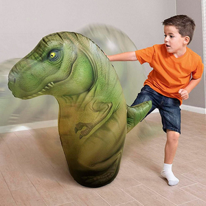 Puching Ball Inflable Involcable Dinosaurio Bestway 96cm