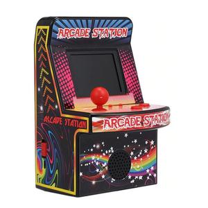 Mini Consola Retro Arcade Station 240 Juegos 8-bit 2.5 Lcd