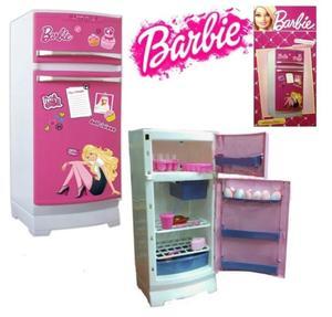 Heladera Infantil Barbie Original TV