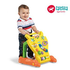 Andador / Caminador Feliz + Juguetes + Piezas Giratorias