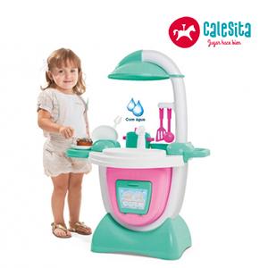 Cocina Sueño Esmeralda + Sonido + Accesorios - Calesita