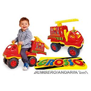 Camion Bombero Andarin 2 En 1 Grosso