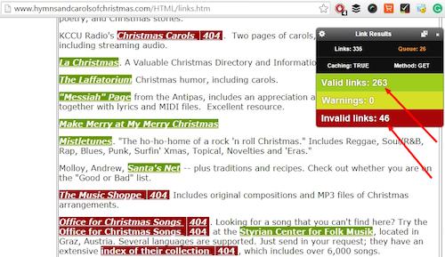 Check My Links Toolbar