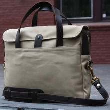 Khaki briefcase  0003 layer 1