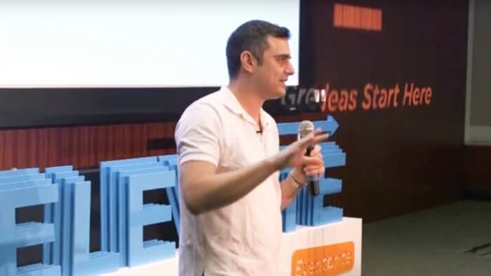 Gary Vaynerchuk talks at Elevate 2013 about the current state of marketing