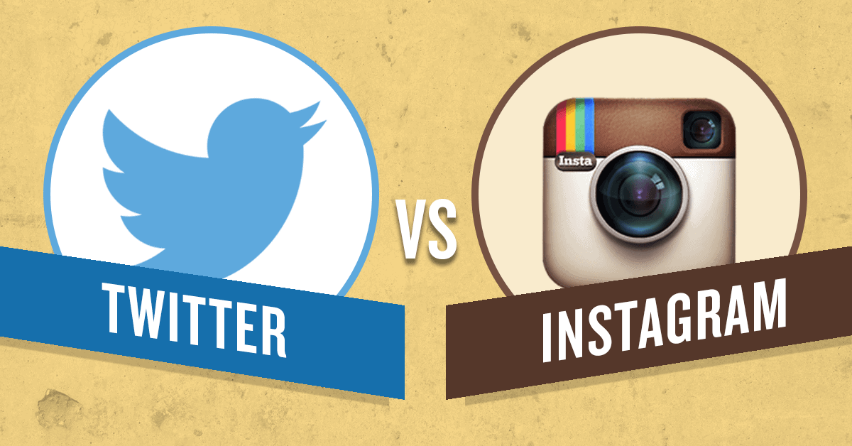 The Big Difference Between Twitter and Instagram Will Determine Who