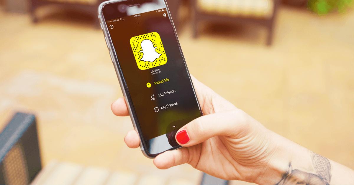 The Snapchat App
