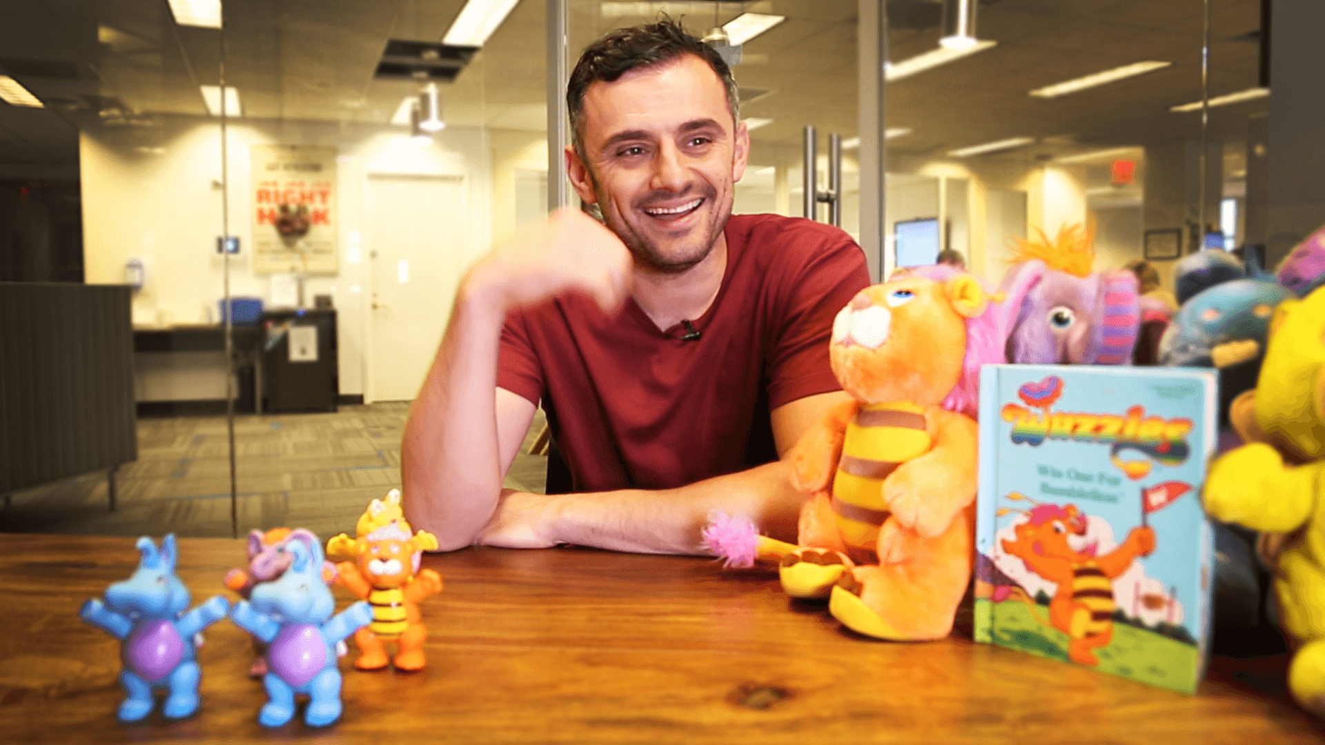 Gary Vaynerchuk and his Wuzzle collection
