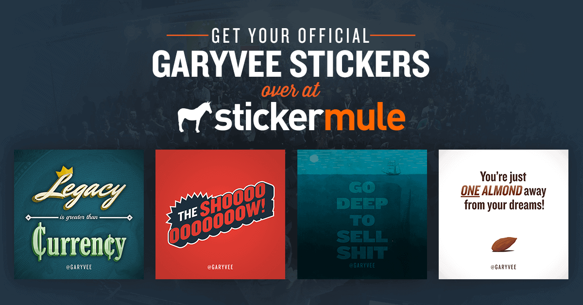 Gallery of Gary Vaynerchuk stickers