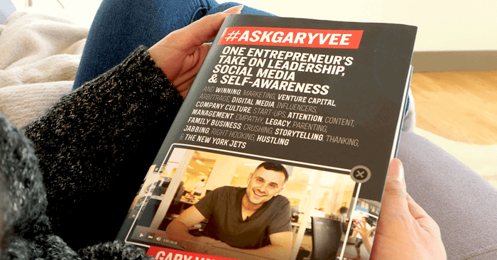 How to review the #AskGaryVee Book on Instagram