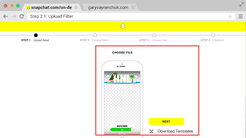 160314 how to use snapchat custom geofilters stepsstep - Snapchat Geofilter Template Free
