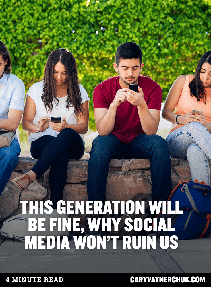 What would you say about our generation these days?