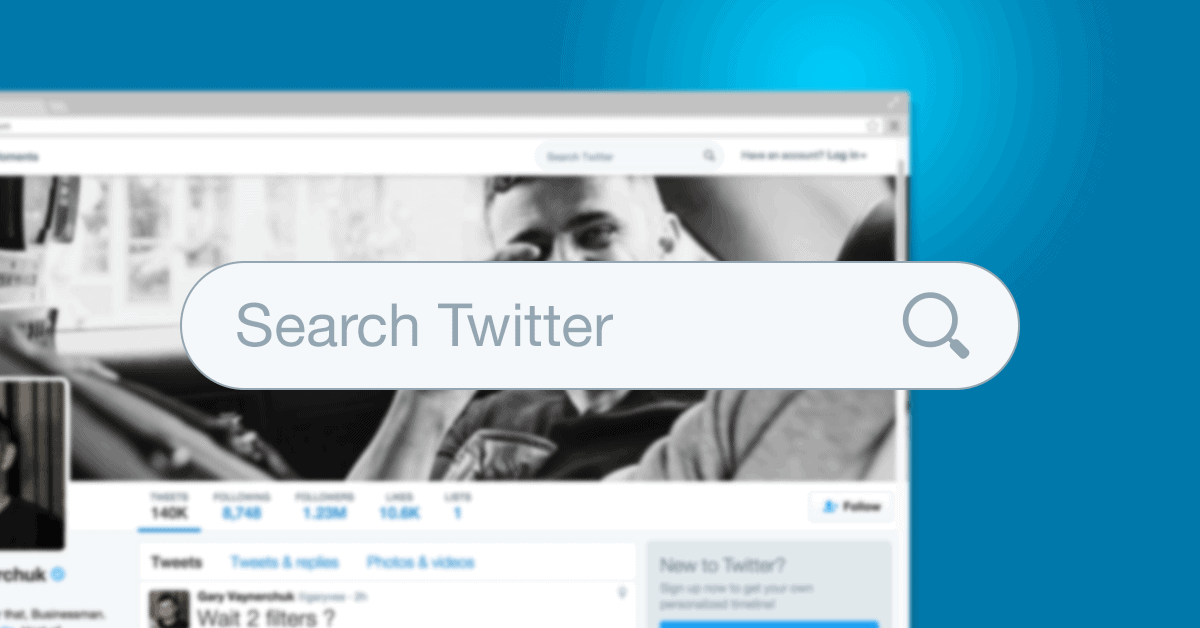 Twitter's search engine is a powerful tool for marketers