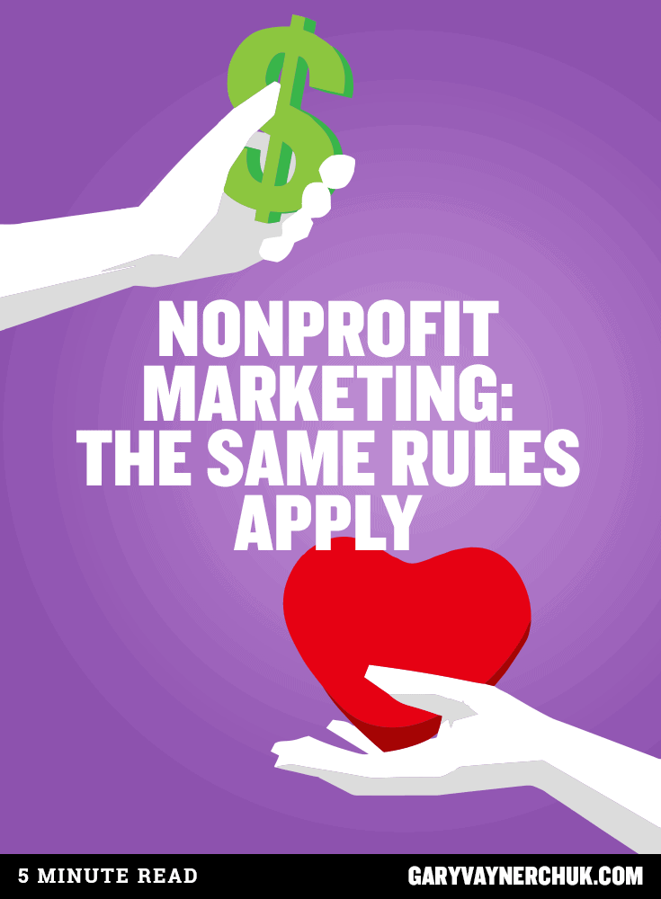 nonprofit marketing  the same rules apply