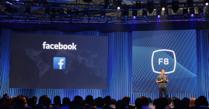 Mark Zuckerberg at F8 2015. Will his announcements at F8 2016 change what it means to be on the Internet?