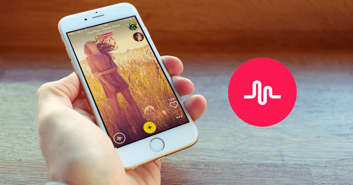 Musical.ly is an app that allows you to make short videos of yourself lipsyncing to popular music..