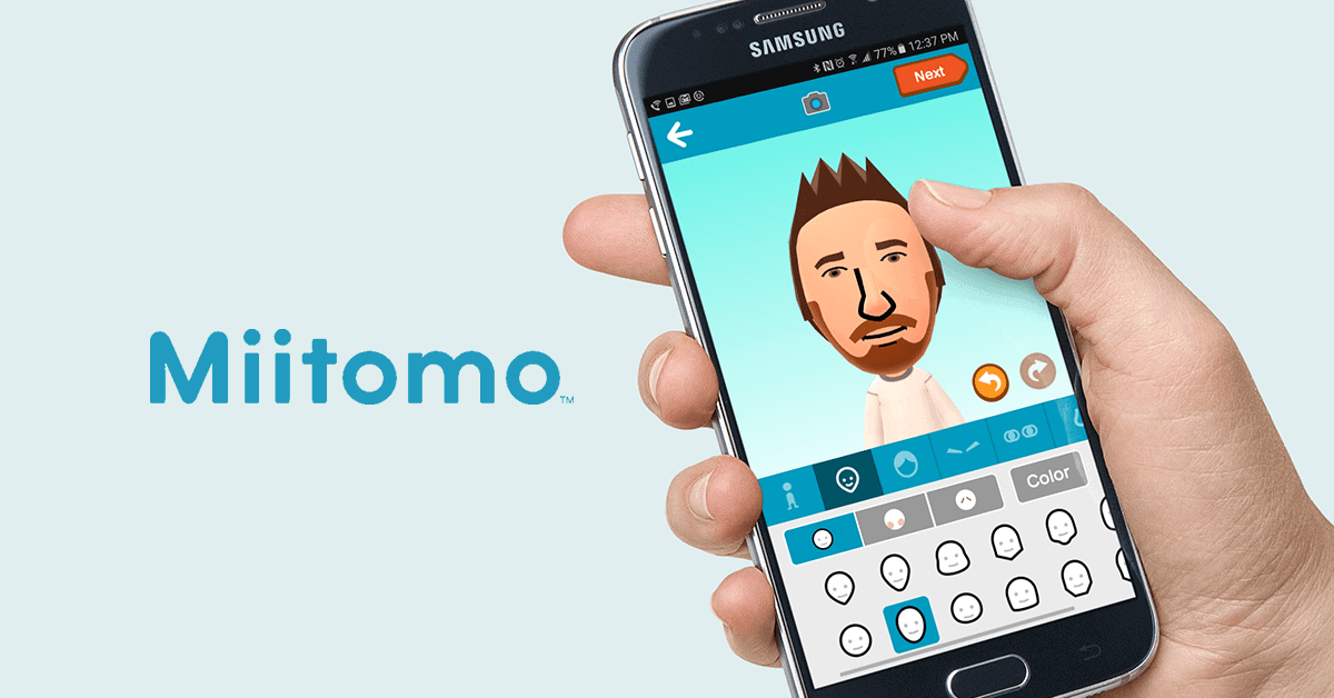 MiiTomo is Nintendo's first social mobile app.