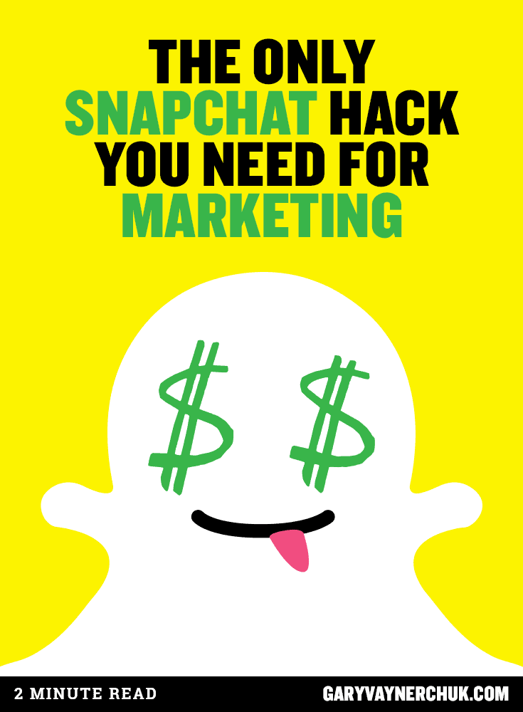 The Only Snapchat Hack You Need for Marketing