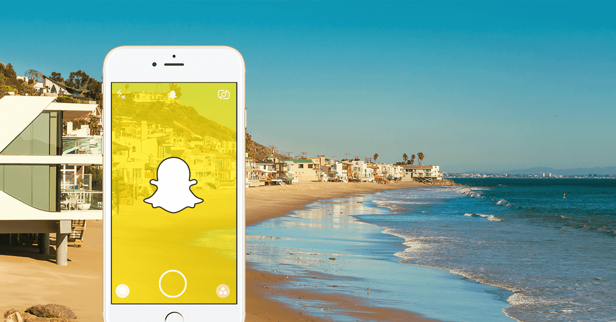 Using only Snapchat to sell real estate in Malibu