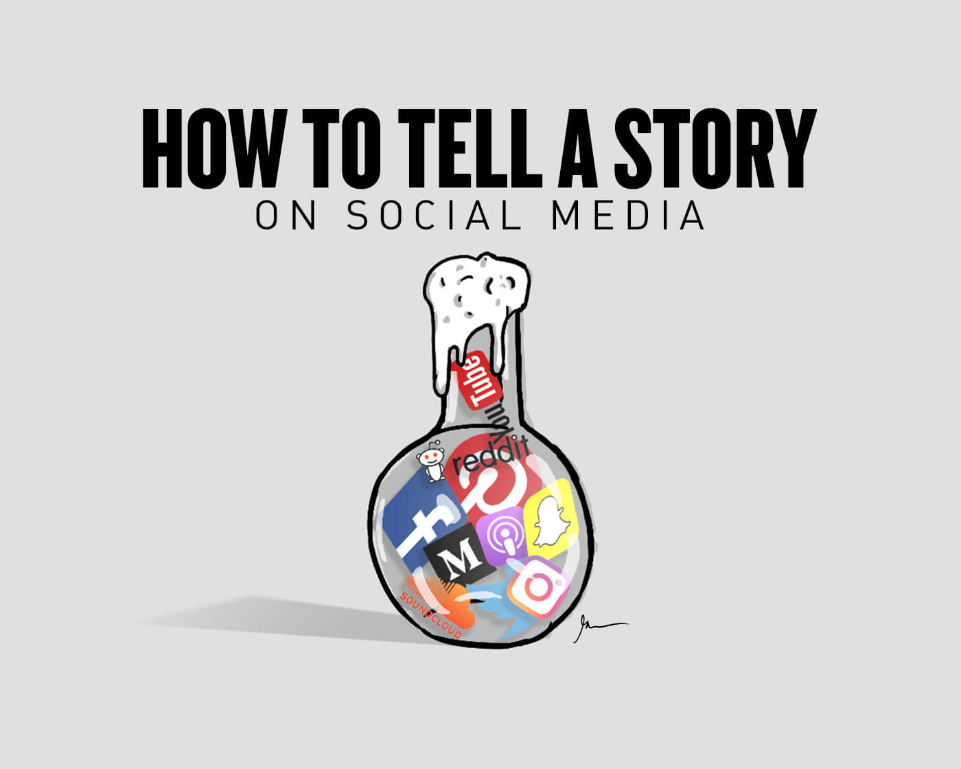 official photos 9b35d 68f2e How to Tell a Story on Social Media