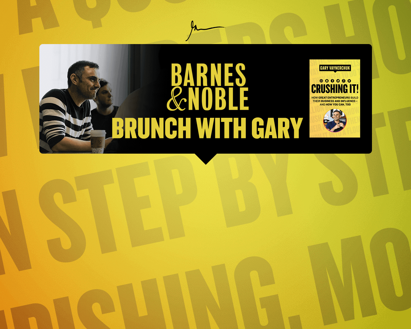 Join Me For a Special Crushing It Brunch! 8 Tickets Only