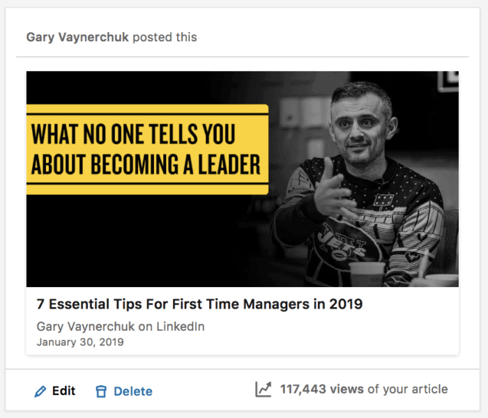 5 LinkedIn Marketing Strategies for 2019 | GaryVaynerchuk com