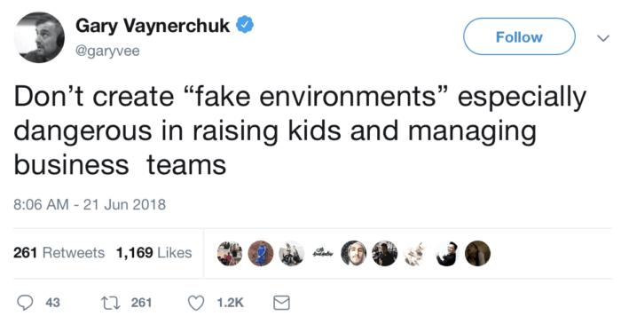 fake environments
