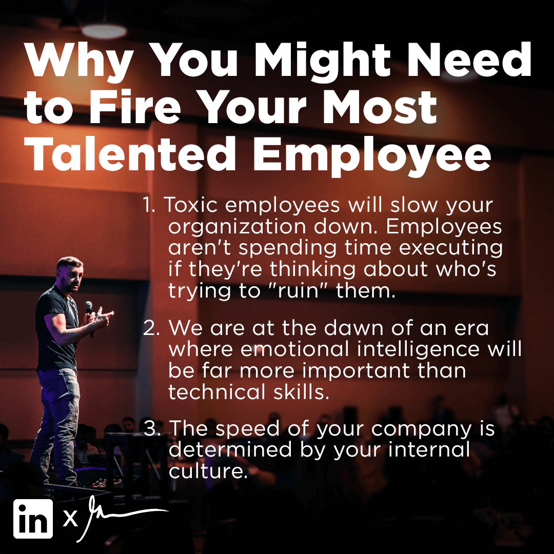firing employees who are talented
