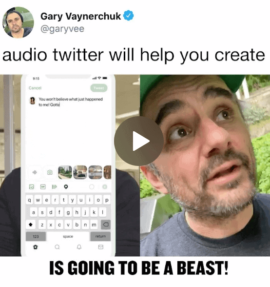How Audio Twitter Can Help You Create