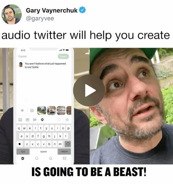 garyvee audio twitter