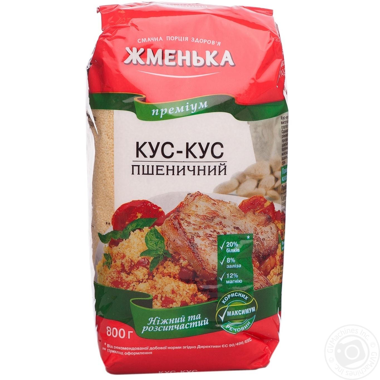 Крупа Жменька Премиум кус-кус пшеничный 800г